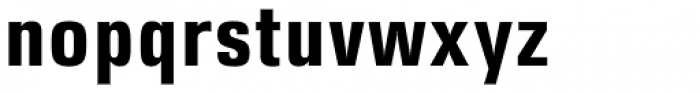DDT Cond Bold Font LOWERCASE