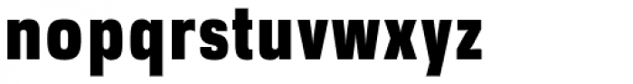 DDT Cond Heavy Font LOWERCASE