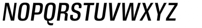 DDT Cond Italic Font UPPERCASE