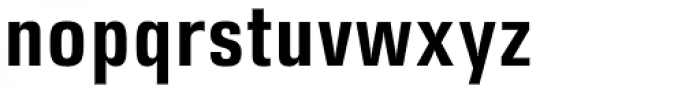 DDT Cond SemiBold Font LOWERCASE