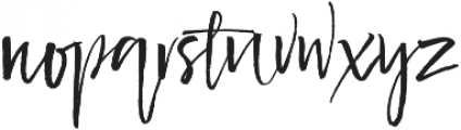 Delicious ttf (400) Font LOWERCASE