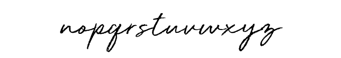 Deluxe Edition Font LOWERCASE