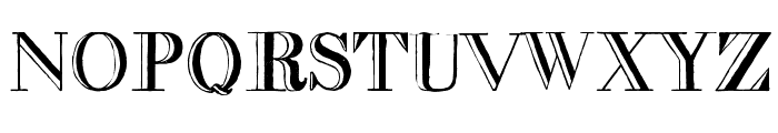decadence condensed Font LOWERCASE