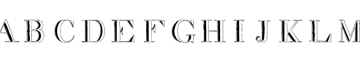 decadence in a different light Font UPPERCASE