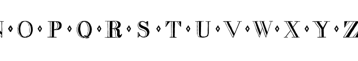 decadence Font LOWERCASE
