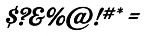 Delicious Pro Regular Font OTHER CHARS