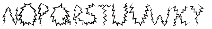Death Ray Font UPPERCASE