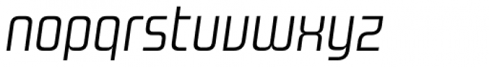 Design System A 300 Italic Font LOWERCASE