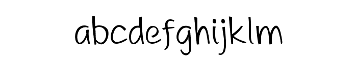 DHF A Great Happiness Font LOWERCASE