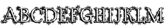 Dickensian Christmas Font UPPERCASE