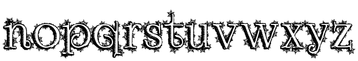 Dickensian Christmas Font LOWERCASE