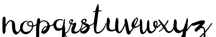 Digory Doodles Font LOWERCASE