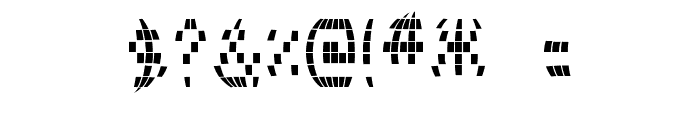 Disco 2000 Font OTHER CHARS