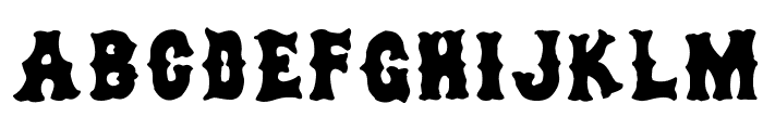 dirty sox Font UPPERCASE
