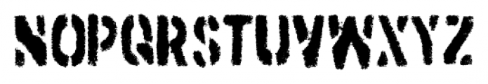 Dirtstorm Regular Font UPPERCASE