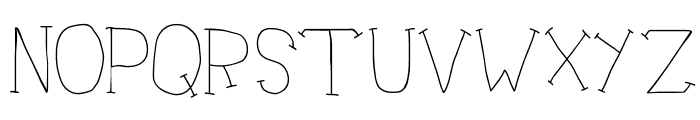 Doctor Azul Font LOWERCASE