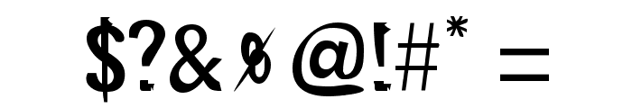 Doggy Regular Font OTHER CHARS