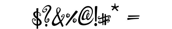 Dollhouse Font OTHER CHARS