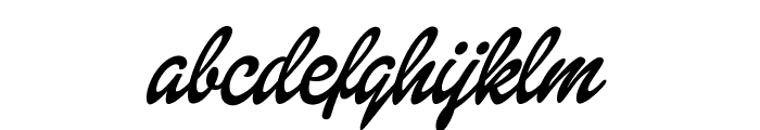 Dollie Script Personal Use Font LOWERCASE