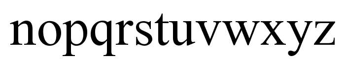 Doulos SIL Font LOWERCASE