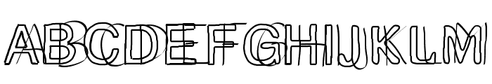 double Font UPPERCASE