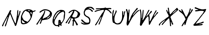 double_line Font UPPERCASE