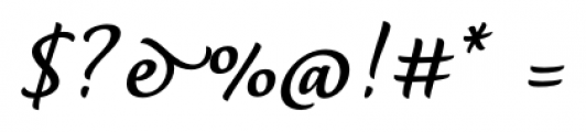 Dolce Bold Font OTHER CHARS