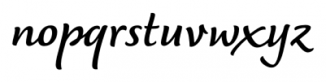 Dolce Bold Font LOWERCASE