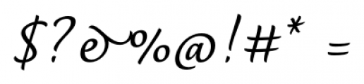 Dolce Medium Font OTHER CHARS
