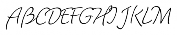 Dolce Thin Font UPPERCASE