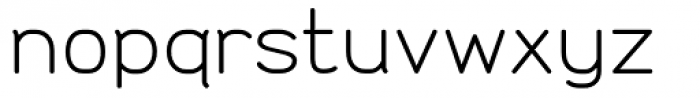 Doctarine Regular Font LOWERCASE