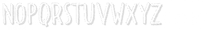 Dolce Caffe Shadow Font LOWERCASE
