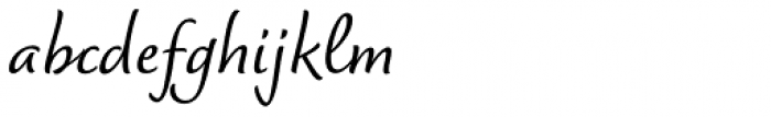 Dolce Medium Font LOWERCASE
