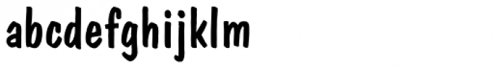 Dom Casual Font LOWERCASE
