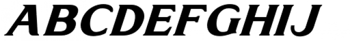 Doncaster Italic Font UPPERCASE