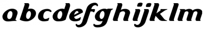 Doncaster Italic Font LOWERCASE