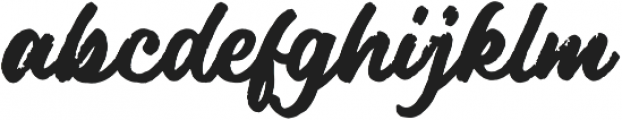 DrusticDialy Script otf (400) Font LOWERCASE