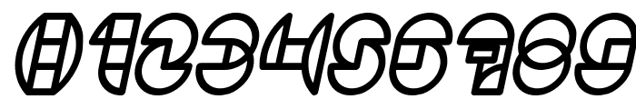DRAGON FLY Bold Italic Font OTHER CHARS