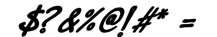 Dr.Marz Bold italic Font OTHER CHARS