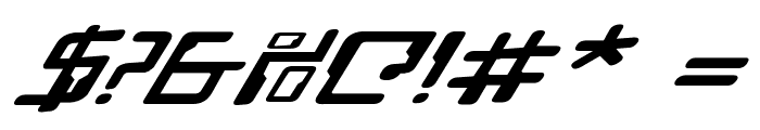 Droid Lover Expanded Rotalic Font OTHER CHARS