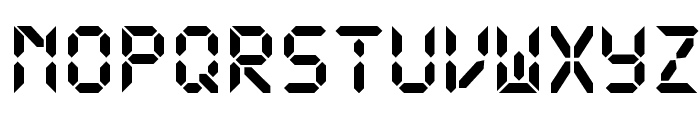 DS-Digital Bold Font LOWERCASE