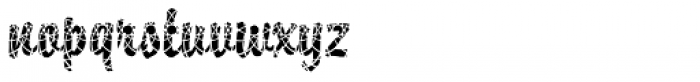 DTC Brody M29 Font LOWERCASE