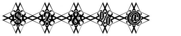 DTC Brody M48 Font OTHER CHARS