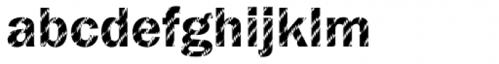 DTC Franklin Gothic M27 Font LOWERCASE