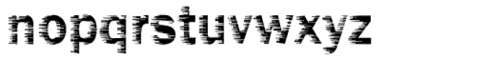 DTC Funky M01 Font LOWERCASE