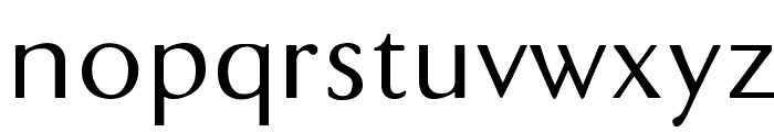 DualisLite Font LOWERCASE