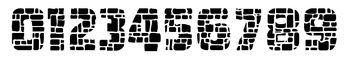 Dungeon Blocks Filled Font OTHER CHARS