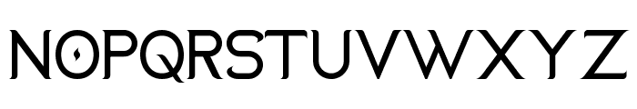 Duralith Font UPPERCASE