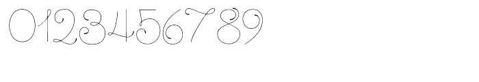 Dulce Regular Font OTHER CHARS