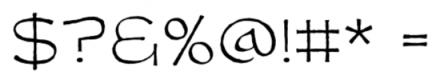 Dungeon Dweller BB Thin Font OTHER CHARS